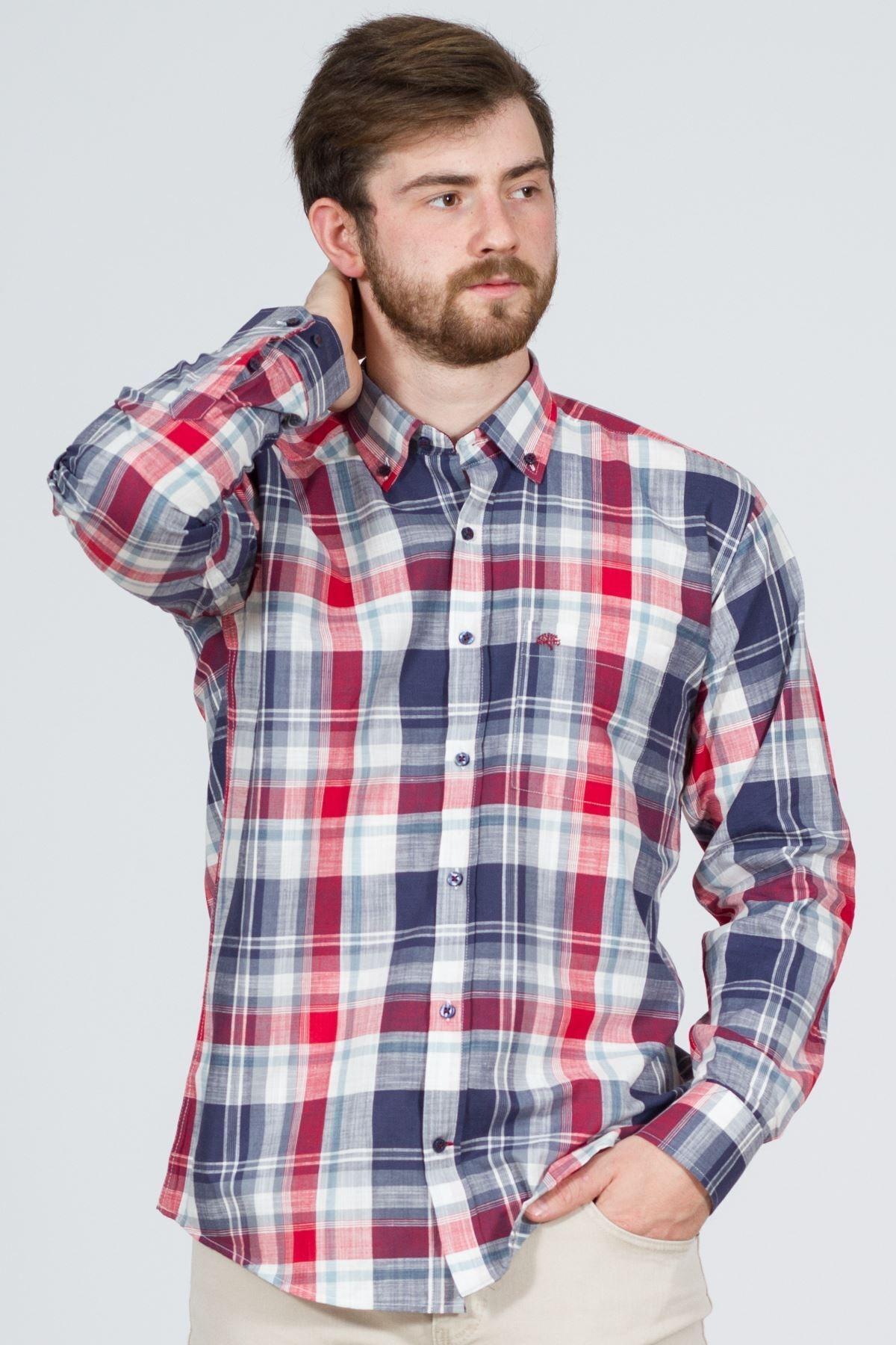 giyinsen Oslo Keten Erkek Gömlek