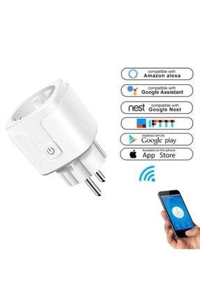 DEHALİMİTED Ios Ve Android Telefon Uyumlu Sesli Kontrollü Wifi Akıllı Priz 16 Amper 1