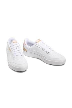 Puma SHUFFLE Beyaz Kadın Sneaker Ayakkabı 101085434 4