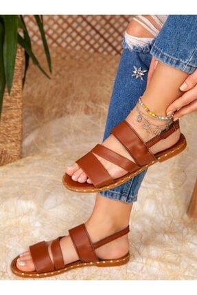 ayakkabıhavuzu Sandalet - Taba - Ayakkabı Havuzu 2