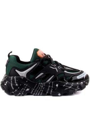 Guja Kadın Yeşil Sneakers 1