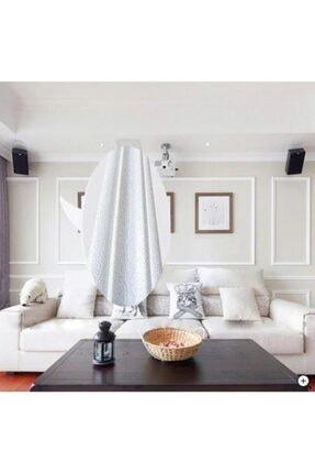 Renkli Duvarlar Beyaz 8cm-117cm 4 Adet Yapışkanlı Çıta Çerçeve Esnek Süpürgelik 3