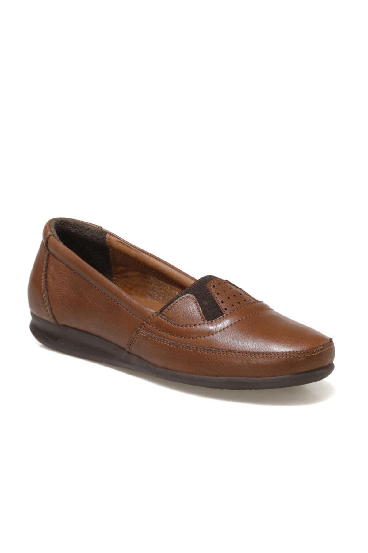 103017.Z1FX Taba Kadın Comfort Ayakkabı 100911519