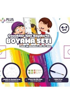 PlusHobby Çocuklar Için Sayılarla Boyama Seti 1