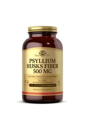 Solgar Psyllium Husks Fibre 500 Mg 200 Kapsül 0