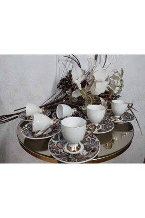 Naz-07 Tekbir 6 kişilik kahve fincanı