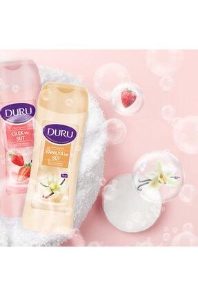 Duru Fruit & Milk Vanilya Ve Süt Duş Jeli 3x450ml 2