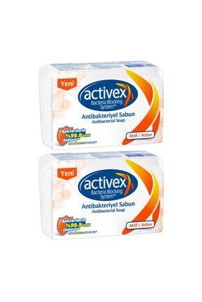 Activex Antibakteriyel 8 Adet Katı Sabun Aktif 2x320 Gr 0