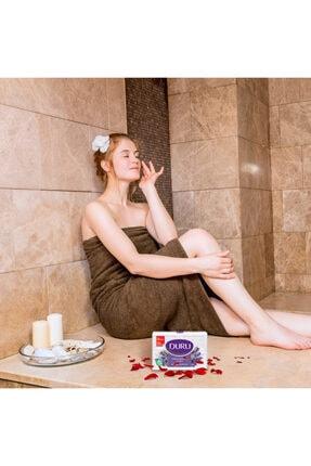 Duru Saf & Doğal Lavanta 4 Adet Beyaz Kalıp Sabun 600 gr 1