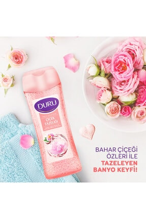 Duru Fresh Sensations Çiçek Tazeliği Duş Jeli 3x450ml 2
