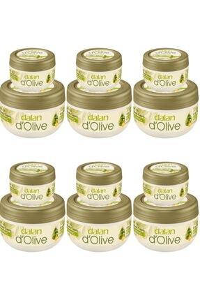 Dalan D'olive Zeytinyağlı Besleyici 300 Ml Ve 150 Ml Vücut Kremi Seti 6 Adet 0