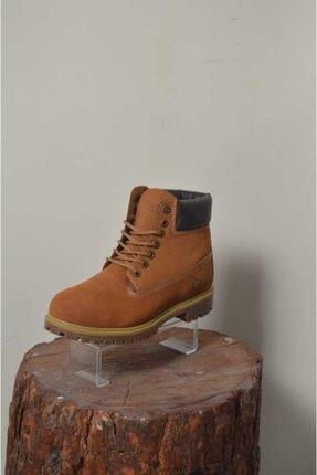 Dunlop Erkek Kahverengi Süet Bot 2