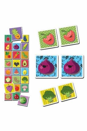 MATEO Eşleştirme Kartları Meyve Ve Sebze Okul Öncesi Oyunlar 0