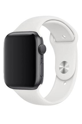 Fibaks Apple Watch 42mm A+ Yüksek Kalite Spor Klasik Silikon Kordon 0