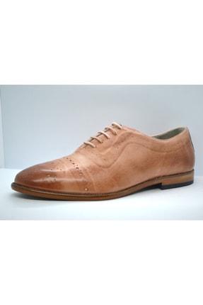 Faruk Sağın Erkek Pembe Hakiki Deri Ayakkabı 1