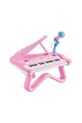 Birlik Oyuncak Mutlu Piyanist Mikrofonlu Piyano 3