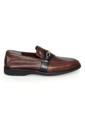 Oğuzhan Ayakkabı Erkek Kahverengi Eva Taban El Yapımı Doğal Yumuşak Deri Ayakkabı 1