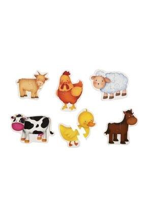 Eolo Baby Puzzle Çiftlik Hayvanlar 2