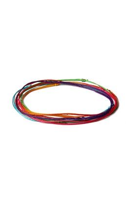 Chill & Feel 6'lı Renkli İp - Minimal Bileklik 1