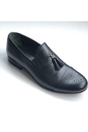 Erkek Siyah Püsküllü Ayakkabı 74526938