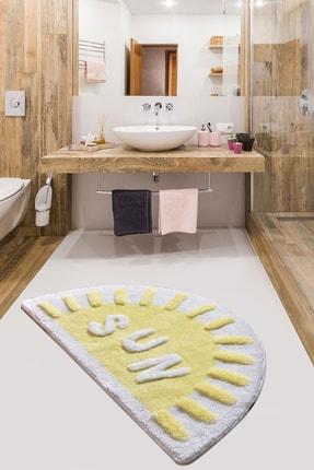 Chilai Home Sun Sarı 60x100 cm Banyo Halısı Paspas 0