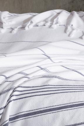 Deep And Pure Beyaz Rigel Çift Kişilik Yatak Örtüsü 2