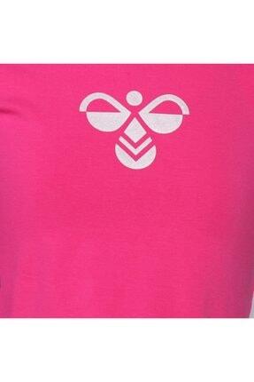 HUMMEL Kız Çocuk Pembe Monteresso Crop Tshirt 3