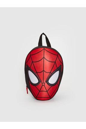 LC Waikiki Spiderman Erkek Çocuk Kırmızı Csg Sırt Çantası 0