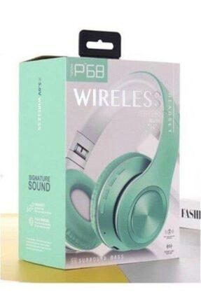 Torima Yeşil P68 Bluetooth Kablosuz Stereo Kulaklık 4