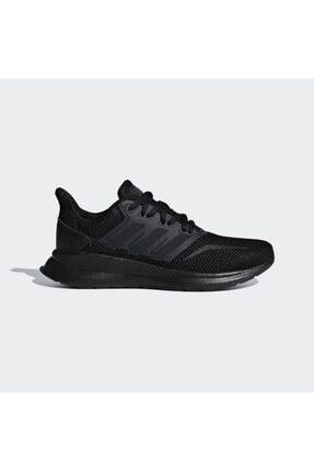 adidas Kadın Siyah Runfalcon K Spor Ayakkabı (f36549) 0