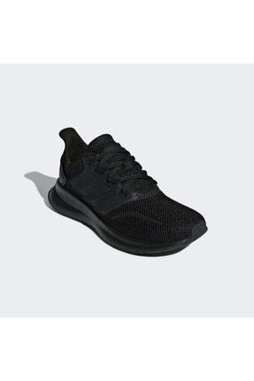 adidas Kadın Siyah Runfalcon K Spor Ayakkabı (f36549) 2
