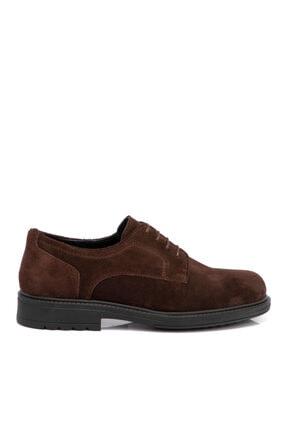 Tergan Kahverengi Süet Deri Erkek Ayakkabı 55015b85 2