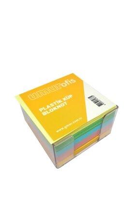 Livart Umur Plastik Kutulu Renkli Küp Blok 8.5x8.5cm 2