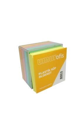 Livart Umur Plastik Kutulu Renkli Küp Blok 8.5x8.5cm 3