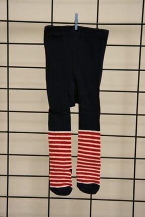 Calza Bella Unisex Çocuk Lacivert 1pk Noel Baba Külotlu Çorap 1