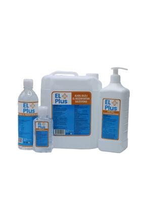 EL PLUS Carefect El+ Plus Antiseptik %82 Alkol Bazlı 5 Litre El Ve Cilt Dezenfektanı 5 Lt (EKŞİ KOKMAZ) 3