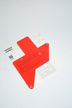Badger Collection Katlanır Cüzdan - Unisex Kartlanır Kırmızı 2