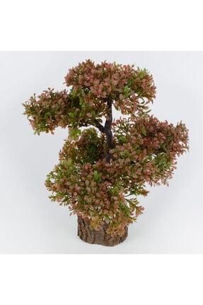 çiçekmisin Doğal Saksıda Dekoratif Çınar Yapay Ağaç 1