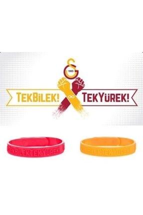 Galatasaray Lisanslı Galatasaray Unisex Omuz Omuza Bileklik Sarı + Kırmızı U651905 0