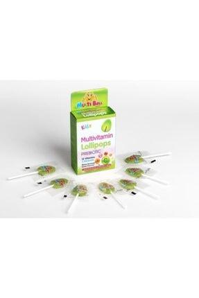 Multiball Kids Multivitamin Lollipop + Prebıotıc 1