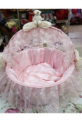 pink fiyonk Bebek Kapı Süsü & Sepet Takımı 1