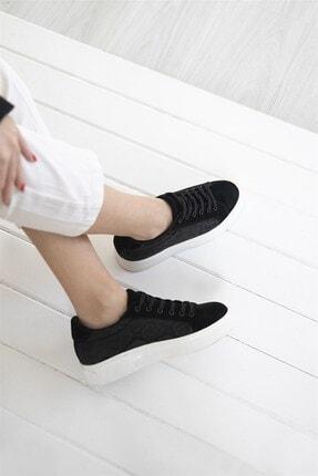 Straswans Kadın Siyah Sweet Spor Ayakkabı 1