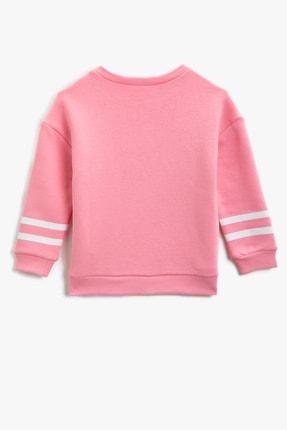 Koton Pembe Kız Çocuk Sweatshirt 1