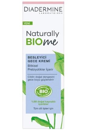 Diadermine Naturally Bıome Besleyici Gece Kremi 50 Ml 0