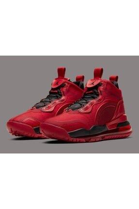 Nike Unisex Kırmızı Basketbol Ayakkabısı Air Jordan Aerospace 720 Bv5502-600 1