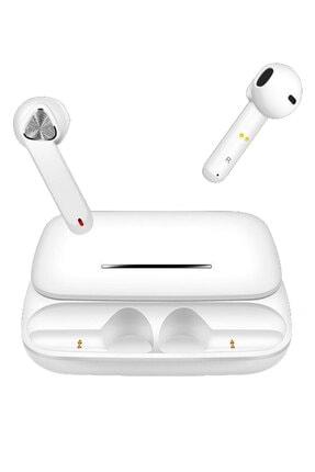 Escom Xiaomi Mi 10 10 Ultra Uyumlu Earbuds Beyaz Kızaklı Bluetooth Kulaklık 2