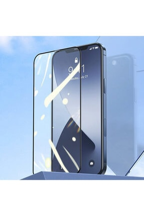 Baseus 0.25mm Iphone 12-12 Pro 6.1 3d Full Tempered Cam Ekran Koruyucu 2adet 2