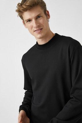 Koton Erkek Siyah Sweatshirt 1KAM74082OK 1