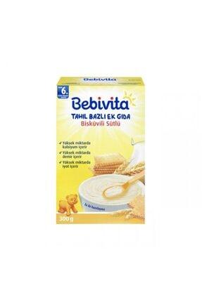 Bebivita Sütlü Bisküvili Kaşık Maması 300 gr 0