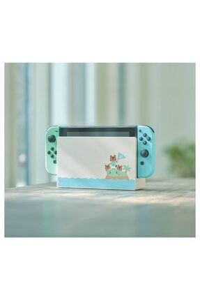 Nintendo Switch Animal Crossing Edition + Animal Crossing New Horizons Oyun 2
